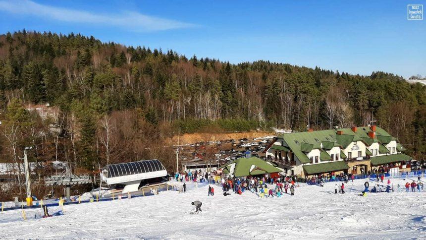 Laskowa Ski - dolna stacja
