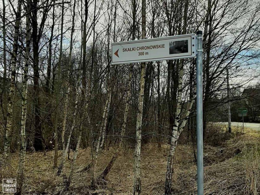Drogowskaz do Skamieniałego Dworu