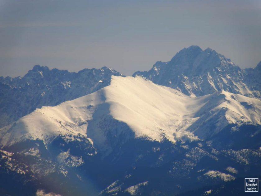 Tatrzańskie szczyty