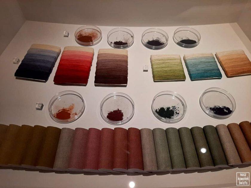 Arrasy - chemiczne barwienie tkanin