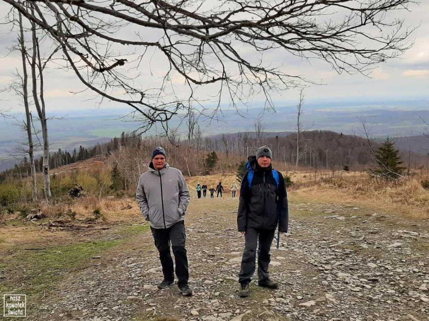 Podejście na szczyt Biskupiej Kopy