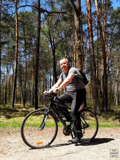 Na rowerze po Puszczy Niepołomickiej