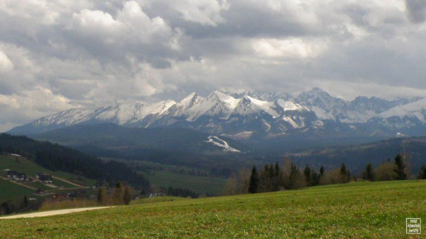 Widok z Litwińskiej Garpy