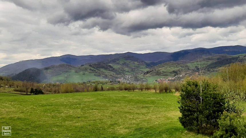 Widok z wieży na Węgielniku