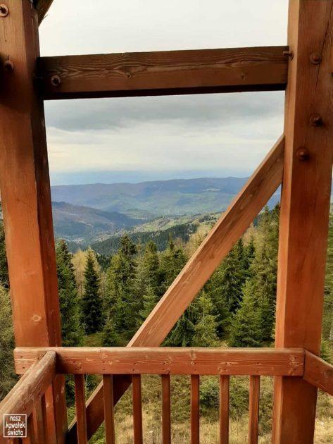 Eliaszówka - widok z wieży widokowej