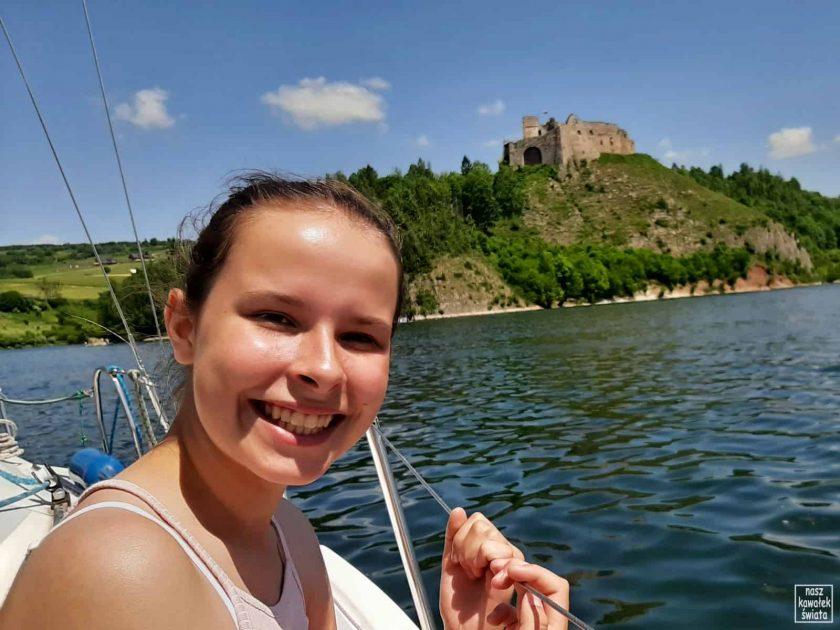 Na rejsie po Jeziorze Czorsztyńskim