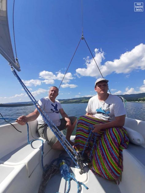 Sternik na Jeziorze Czorsztyńskim