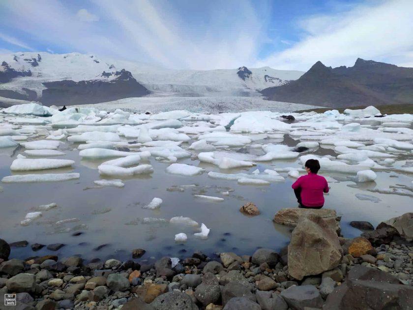 Fjallsarlon - islandzkie laguny lodowe
