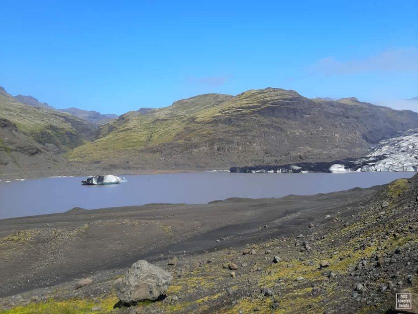 Laguna lodowa przy Solheimajokull