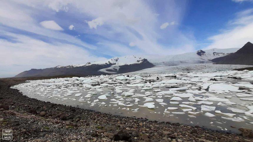 Islandzkie laguny lodowe - Fjallsarlon