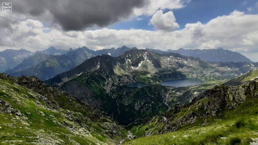 Panorama z Przełęczy Krzyżne