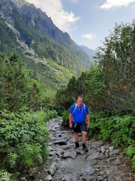 Na szlaku do Doliny Pięciu Stawów