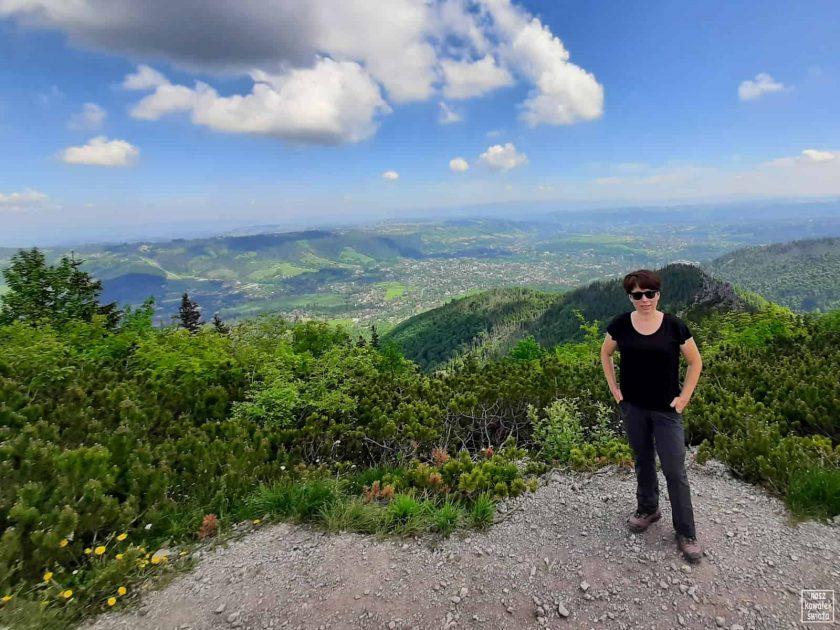 Sarnia Skała - widok na Zakopane