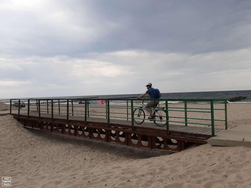 Velo Baltica - przejazd nad kanałem jeziora Kopań