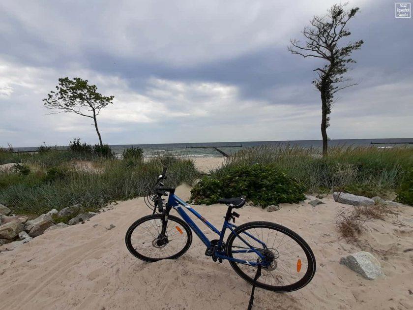 Mierzeja miedzy Bałtykiem a Jeziorem Kopań