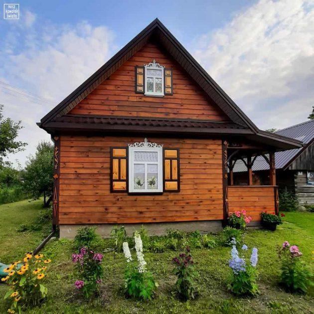 Soce - drewniany domek