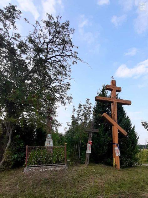 Krzyże na rozdrożu w Socach